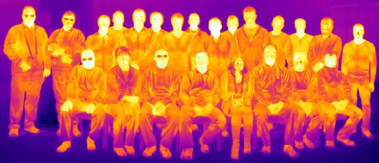 Термограмма панорамная FLIR P640