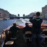 Экскурсия. Мост Ломоносова (Екатерининский) через Фонтанку.