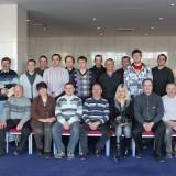 Фотография участников курса в феврале 2012 года