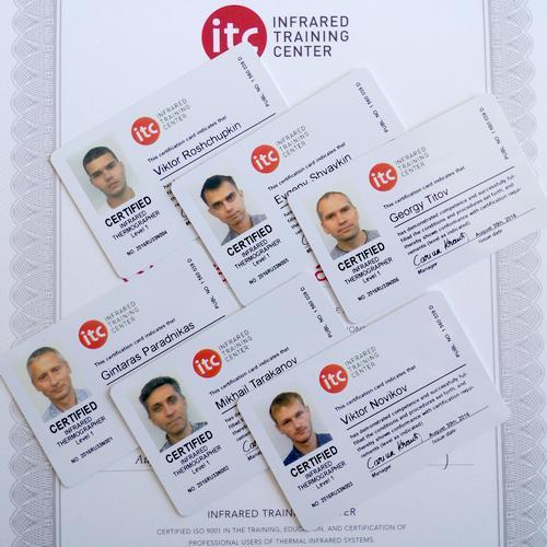Сертификаты ITC Level 1