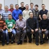 Фотография участников курса, СПб август 2012 г.