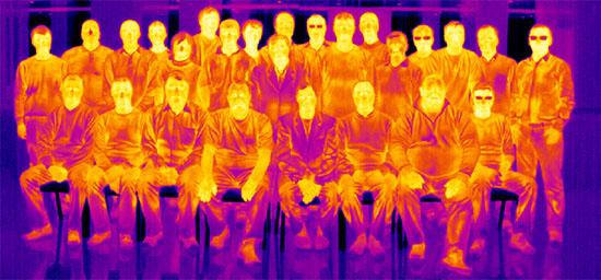 FLIR P640 Infrared Photo