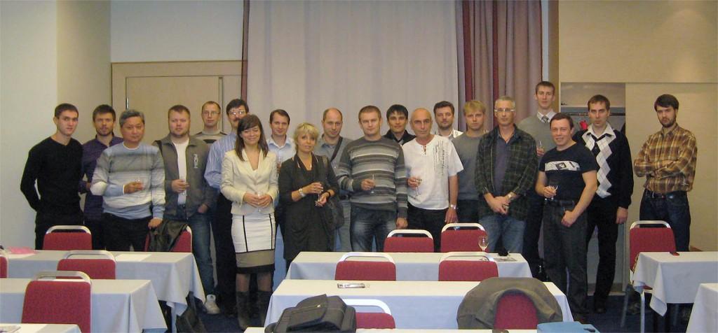 Фотография участников курса по тепловизионному контролю